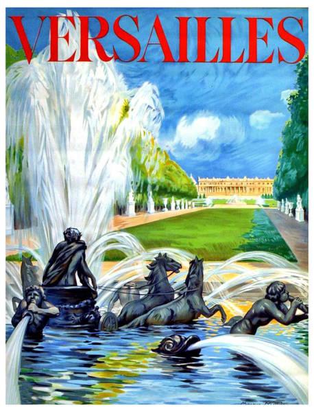 Versailles Wall Art - Digital Art - Versailles by Long Shot
