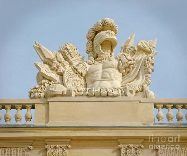 Photograph - Versailles Sculpture by Ann Horn