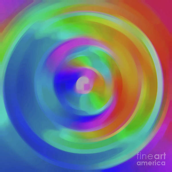 Fluid Digital Art - Version 10 by Alex Caminker