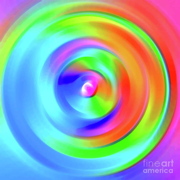 Fluid Digital Art - Version 9 by Alex Caminker