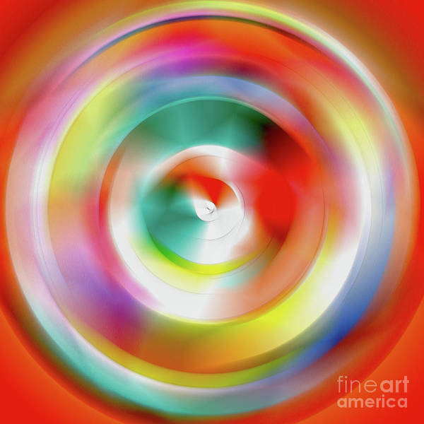 Fluid Digital Art - Version Six by Alex Caminker