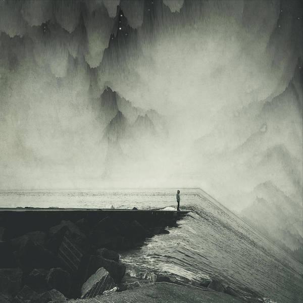 Photograph - Vertigocean - Inclined Seascape by Dirk Wuestenhagen
