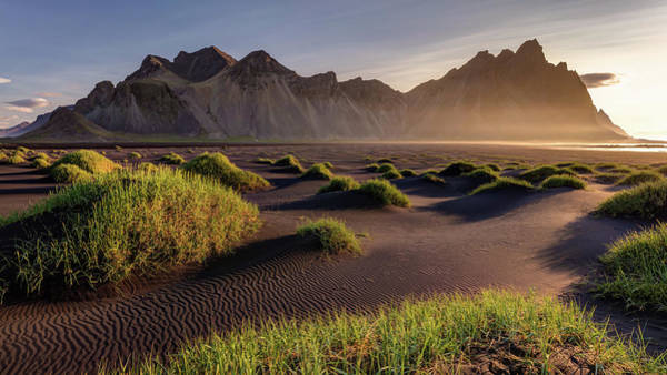 Photograph - Vestrahorn Sunrise Iceland by Pierre Leclerc Photography