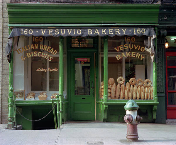 Stores Photograph - Vesuvio Bakery by Michael Gerbino