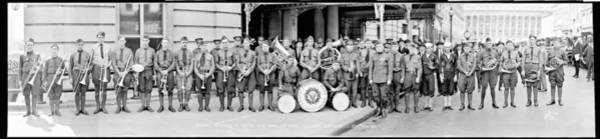 Wall Art - Photograph - Veterans Of Foreign Wars Band by Fred Schutz Collection