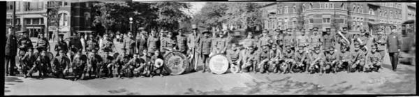 Wall Art - Photograph - Veterans Of Foreign Wars Band, Liggetts by Fred Schutz Collection