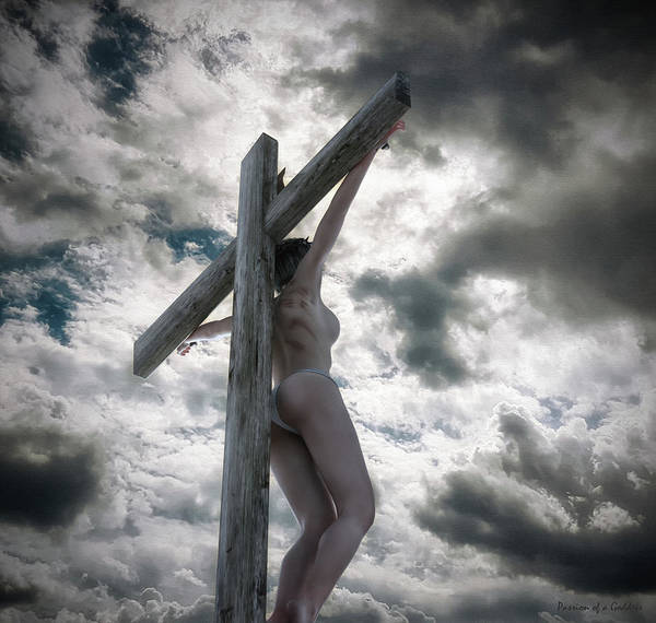 Wall Art - Digital Art - Via Crucis  by Ramon Martinez