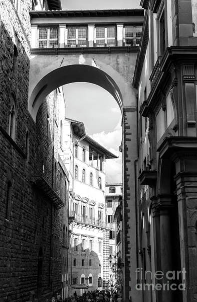 Photograph - Via Della Ninna View In Florence by John Rizzuto