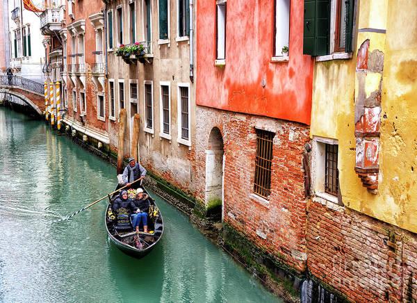 Photograph - Vibrant Venice by John Rizzuto