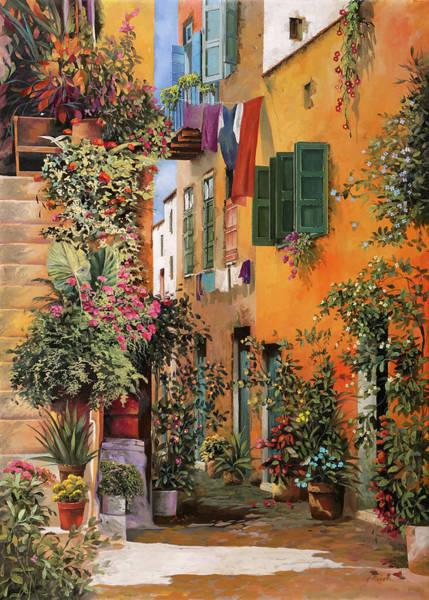 Painting - vicolo a Creta by Guido Borelli