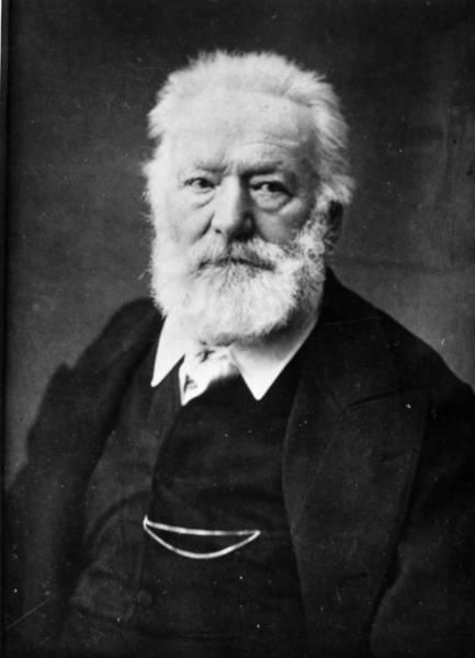 Scriptwriter Photograph - Victor Hugo by Henry Guttmann Collection