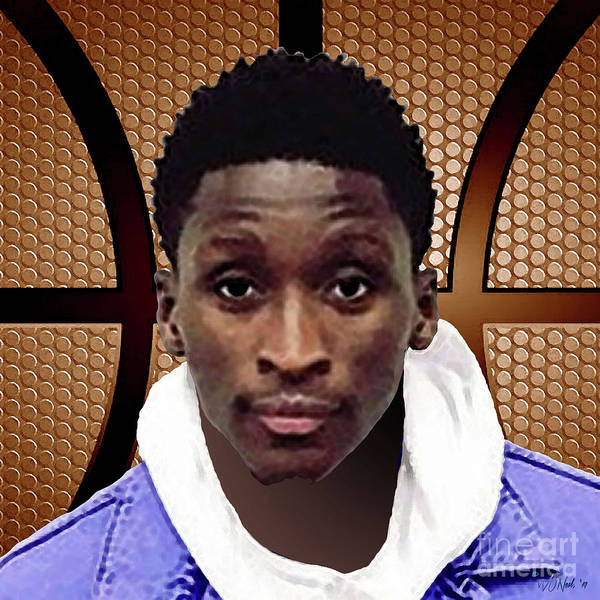 Digital Art - Victor Oladipo by Walter Neal