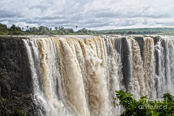 Wall Art - Photograph - Victoria Falls, Rainy Season by Catherine Sherman