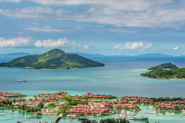 Condos Photograph - Victoria, Mahe, Republic Of Seychelles by Michael Defreitas