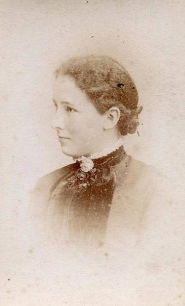 Painting - Victorian Cabinet Card Portrait 1850s - 1910s - 745a by Celestial Images