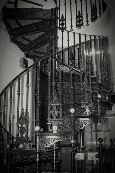 Photograph - Victorian Circular Stairs by Doc Braham