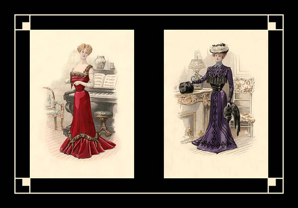 Photograph - Victorian Dress 10 by Andrew Fare