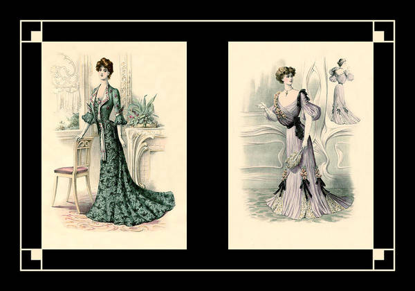 Photograph - Victorian Dress 15 by Andrew Fare