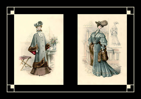 Photograph - Victorian Dress 16 by Andrew Fare