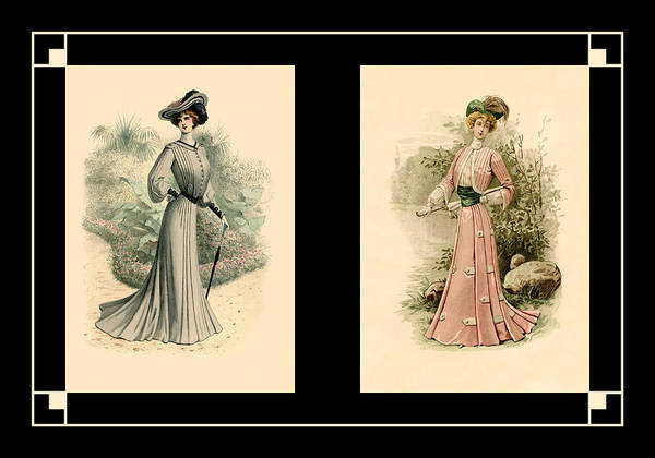 Photograph - Victorian Dress 17 by Andrew Fare