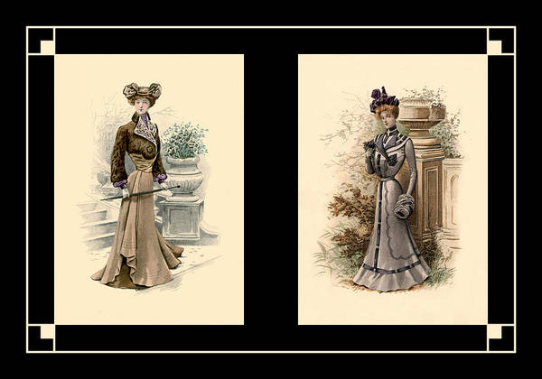 Photograph - Victorian Dress 4 by Andrew Fare
