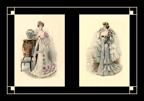 Photograph - Victorian Dress 6 by Andrew Fare