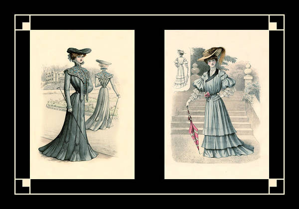 Photograph - Victorian Dress 7 by Andrew Fare