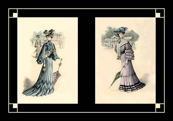 Photograph - Victorian Dress 9 by Andrew Fare