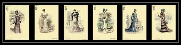 Photograph - Victorian Fashion 1 by Andrew Fare