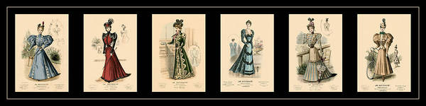 Photograph - Victorian Fashion 2 by Andrew Fare