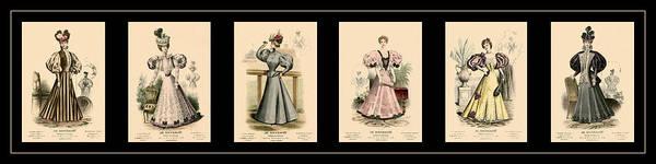 Photograph - Victorian Fashion 3 by Andrew Fare