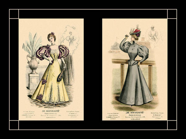 Photograph - Victorian Ladies 12 by Andrew Fare