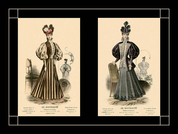 Photograph - Victorian Ladies 13 by Andrew Fare