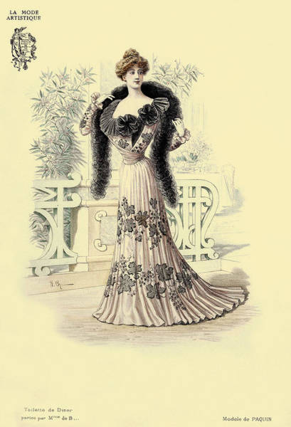 Photograph - Victorian Lady 1 by Andrew Fare