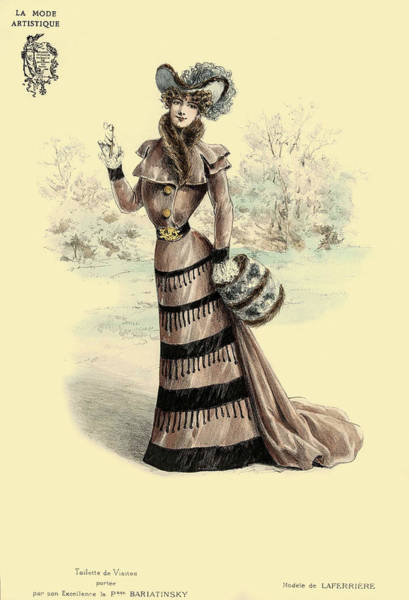 Photograph - Victorian Lady 6 by Andrew Fare