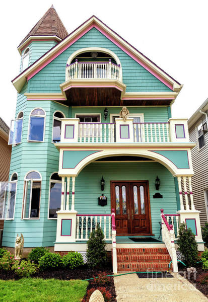 Photograph - Victorian Style In Ocean Grove by John Rizzuto