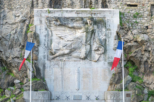 Wall Art - Photograph - Victory In Flight Monument, Tournon by Jim Engelbrecht