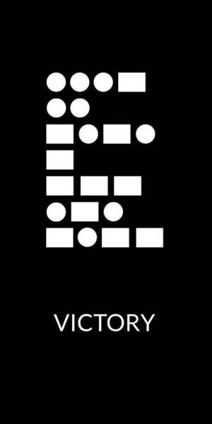 Digital Art - Victory Morse Code- Art By Linda Woods by Linda Woods