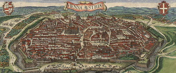 Photograph - Vienna 1548 by Andrew Fare