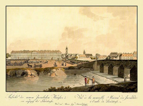 Photograph - Vienna Austria 1792 by Andrew Fare