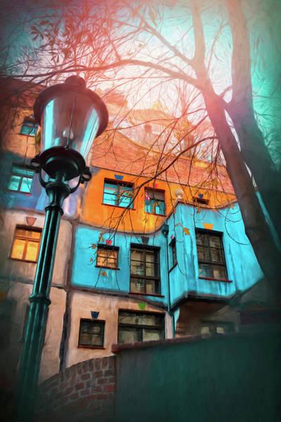 Vienna Austria Hundertwasser House  Art Print