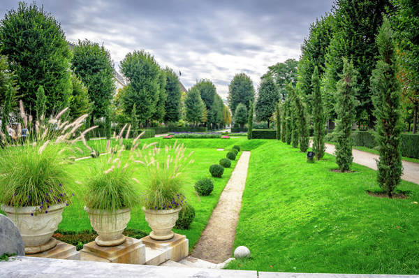 Photograph - Vienna Garden by Borja Robles