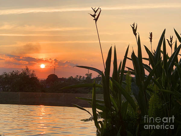 Wall Art - Photograph - Vientiane Sunset by Andrew Dinh