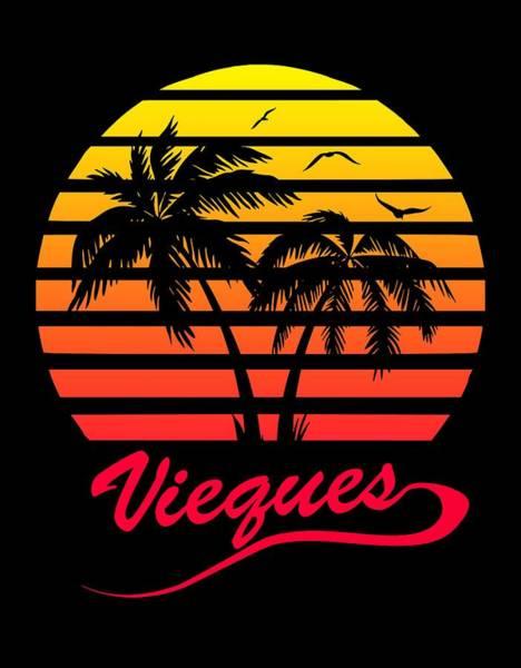 Wall Art - Digital Art - Vieques Sunset by Filip Hellman