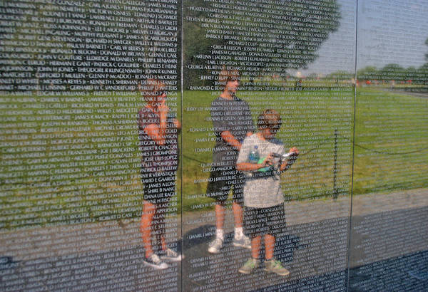 Photograph - Reflecting Upon The Fallen by Anthony Jones