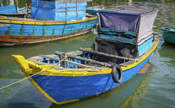 Photograph - Vietnamese Boat by Gary Gillette