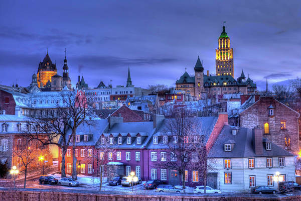 Quebec Photograph - Vieux Quebec Hdr I by Jean Surprenant