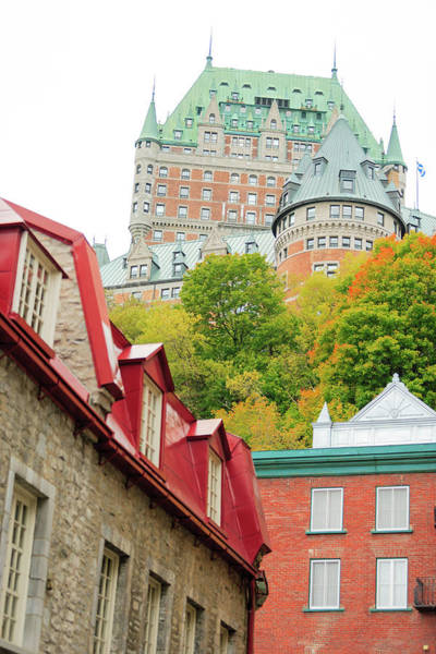 Quebec City Photograph - Vieux-quebec, The Only Walled City by Stuart Westmorland