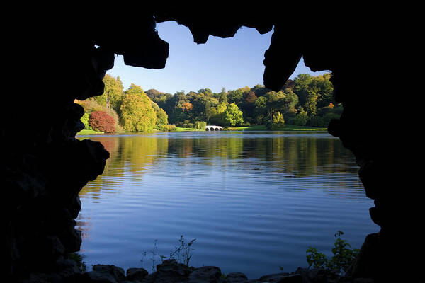 Grottos Photograph - View Across Lake From The Grotto by David C Tomlinson