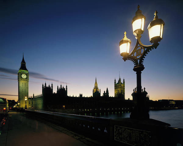 Wall Art - Photograph - View Across Westminster Bridge by Paul Simcock